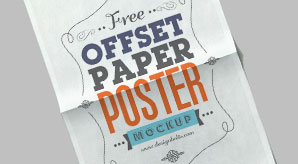 Free-Offset-Paper-Poster-Mock-up-PSD-File