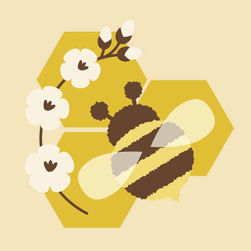 Simple-Honeybee--Adobe-Illustrator-Tutorial-for-beginners