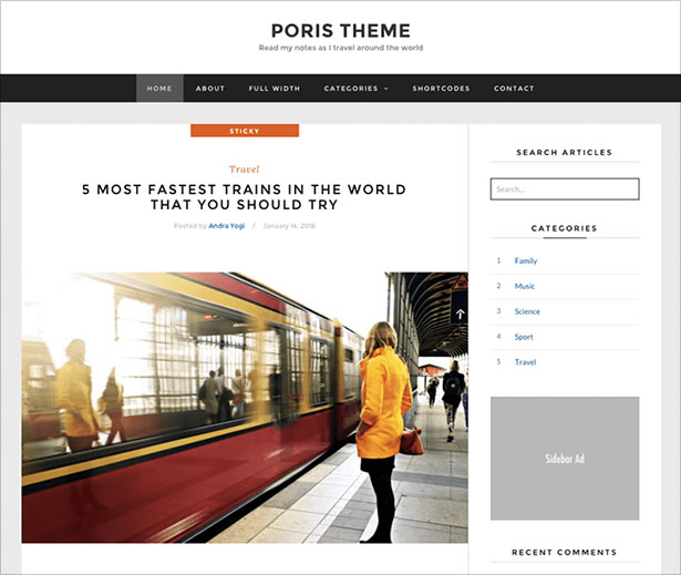 Simple-WordPress-blog-theme-from-ThemeWarrior