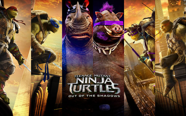 دانلود فیلم Teenage Mutant Ninja Turtles Out of the Shadows 2016 لینک مستقیم