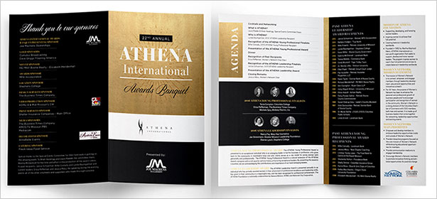 ATHENA-International-Awards-Banquet-Corporate-Brochure-Design-Inspiration