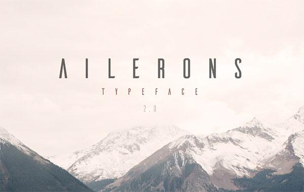 Ailerons-Free-Long-Sans-Serif-Typeface