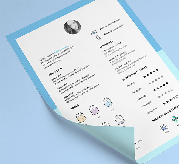 10 all time best free resume  cv  templates in word  psd  ai  u0026 indesign format  u2013 designbolts