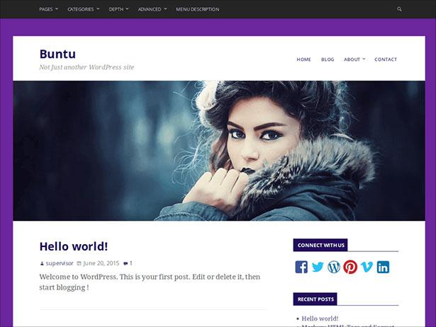 Buntu-clean-responsive-minimal-theme-2016