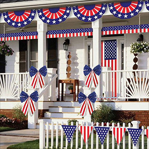 10 best 4th of july 2016 indoor outdoor decorations set for 4th of july decorating ideas for outside