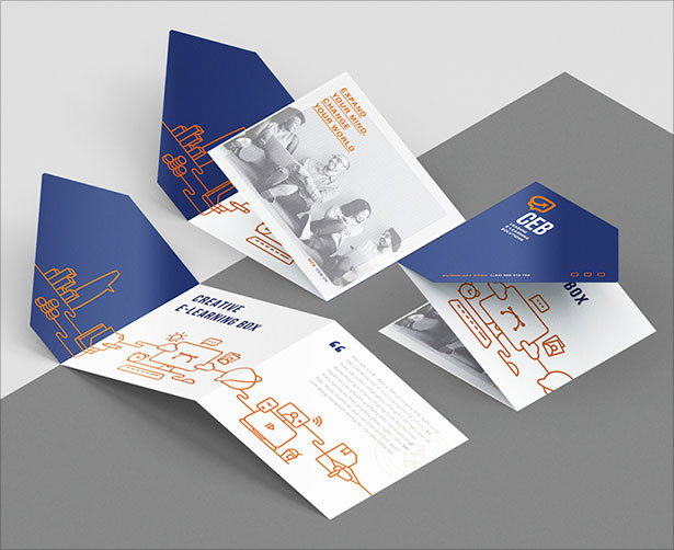 Fresh Beautiful Brochure Design Layout Ideas For Graphic Designers - Brochure template ideas