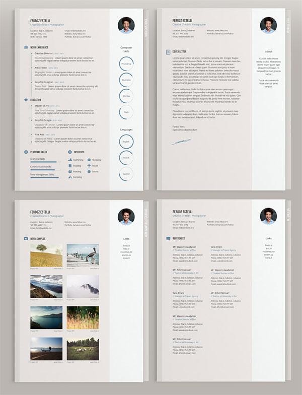 Free-Minimal-CV-Template-Design