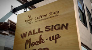 Free-Wooden-Outdoor-Advertising-Wall-Sign-Mockup-PSD-File-2