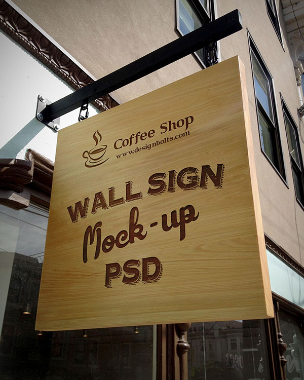 Free-Wooden-Outdoor-Advertising-Wall-Sign-Mockup-PSD-File
