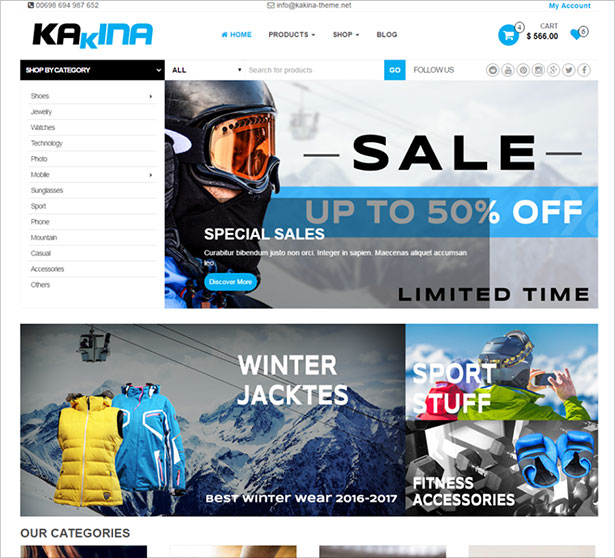 Kakina-free-WooCommerce-WordPress-theme-for-Fashion-Store