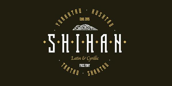 Shihan-Free-Typeface-2016