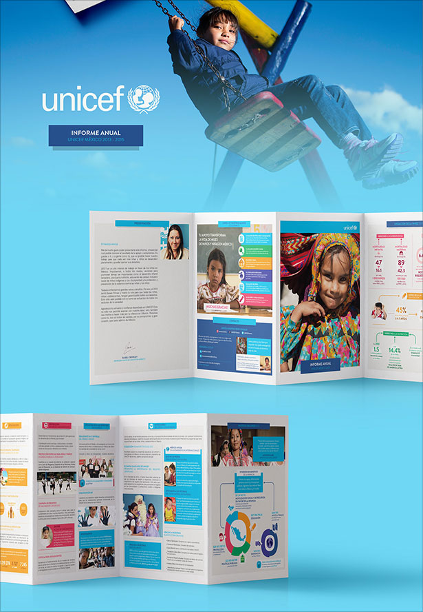 UNICEF-Mexico-Brochure-Design