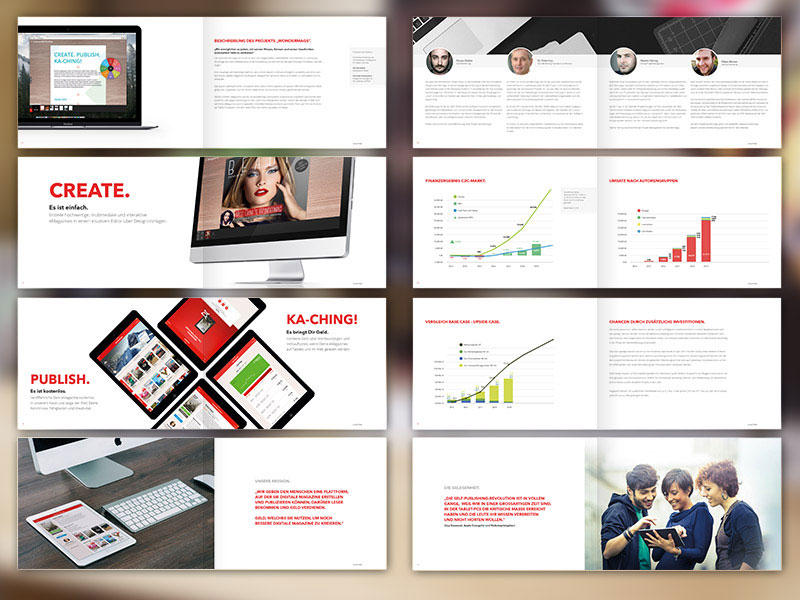 20 fresh beautiful brochure design layout ideas for graphic designerswondermags brochure layout design ideas