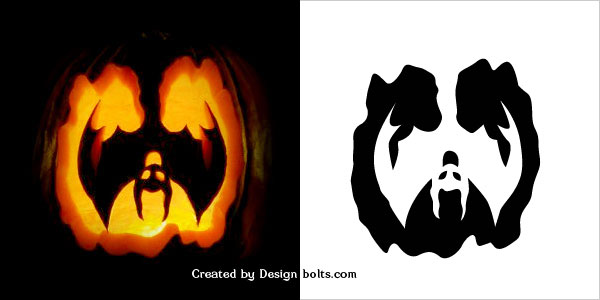 10 free halloween scary pumpkin carving stencils patterns Architecture pumpkin stencils