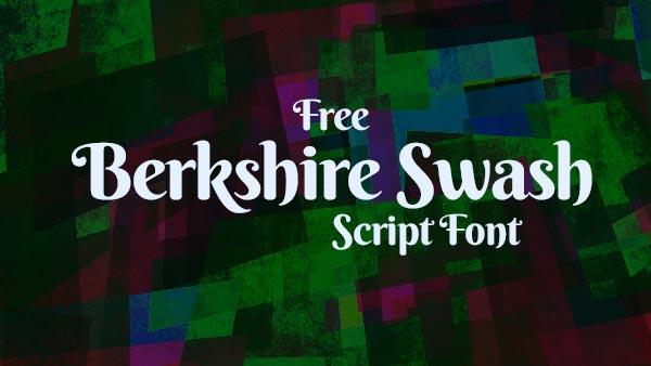 Berkshire-Swash-Free-Script-Font