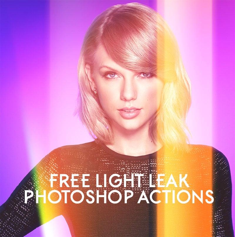 Free-Light-Leak-Photoshop-Actions