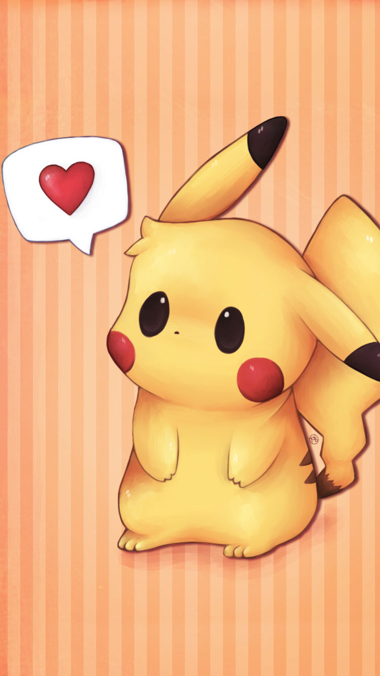 Pikachu-in-love-iPhone-6-Wallpaper
