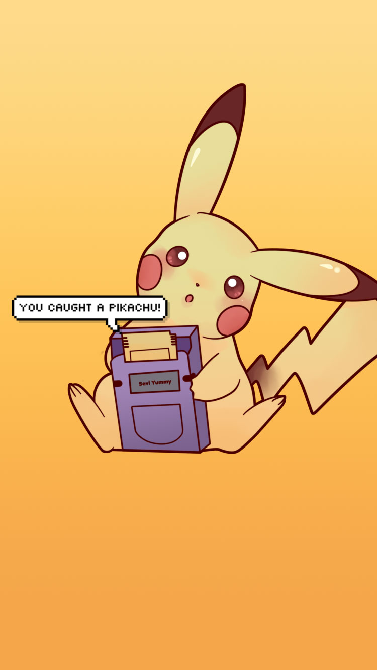 25 Pokemon Go Pikachu & Pokeball iPhone 6 Wallpapers & Backgrounds