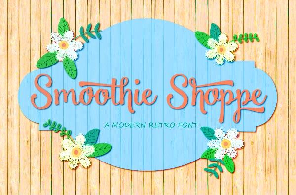 smoothie_shoppe_Free-Script-Font