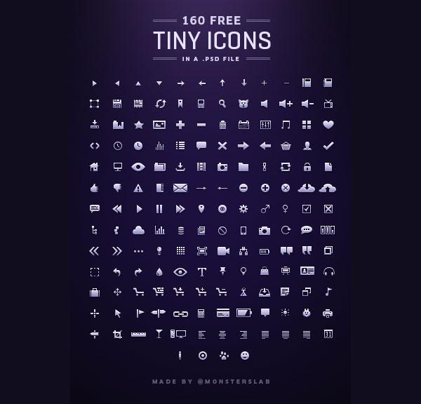 160-free-Tiny-Icons