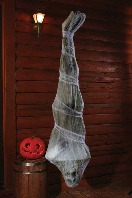 6ft cocoon corpse scary halloween decoration - Best Scary Halloween Decorations