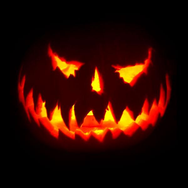 Scariest Pumpkin Face Image