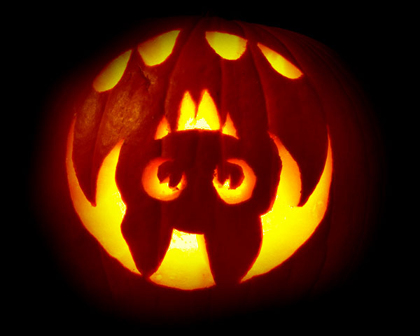 40 Best Cool Scary Halloween Pumpkin Carving Ideas: awesome pumpkin designs