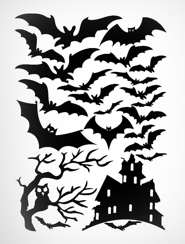 Bats-Tree-and-Haunted-House-Halloween--Wall-Stickers-2016