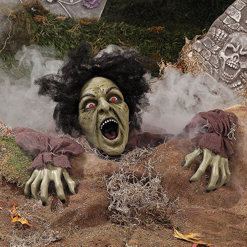 Clawing-Laughing-ZOMBIE-Halloween-Outside-Decor