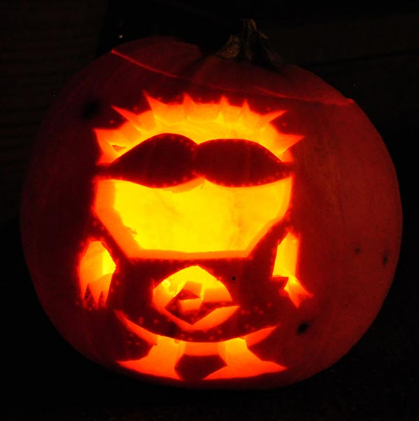 Cool-Minion-hallowen-Pumpkin