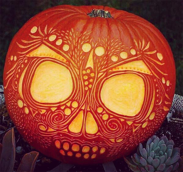 100 awesome pumpkin carvings easy scary pumpkin Awesome pumpkin designs