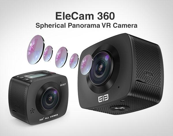 EleCam-360-Spherical-Panorama-VR-Camera