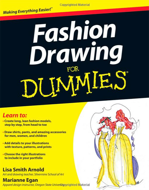Fashion-Drawing-Dummies-Books-For-Designers