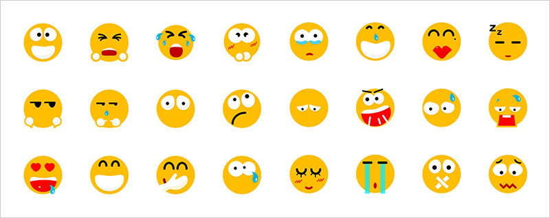 Free-Beautiful-Emotion-Icons