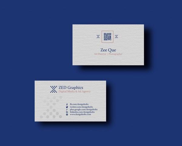 Free Simple Business Card, Letterhead Design Template ...