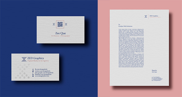 Free-Business-Card-Design-letterhead-Mockup-PSD