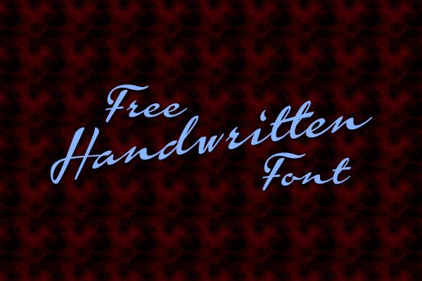Free-Handwritten-font