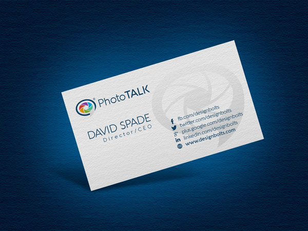 free logo business card design template mockup psd