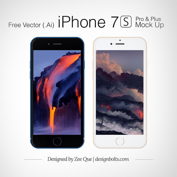 Free-Vector-Apple-iPhone-7-S-Plus-&-Pro-Mockup-in-Ai-&-EPS