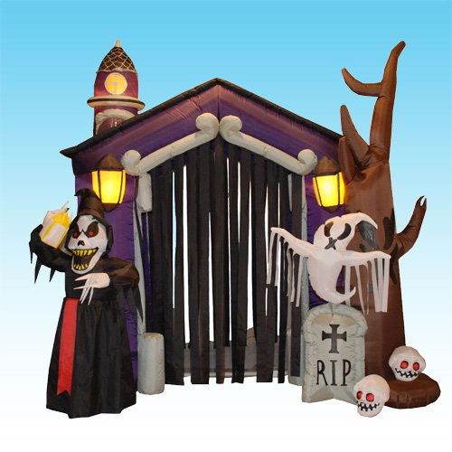 Halloween-Haunted-House-Castle