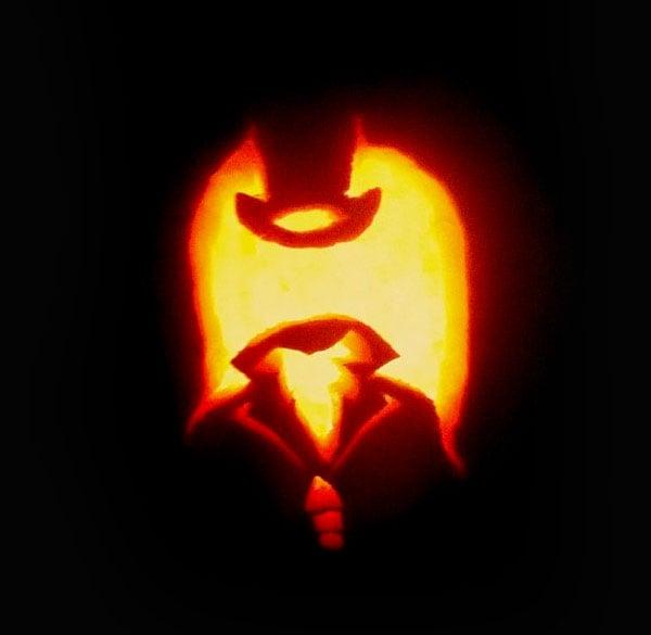 Headless-Horseman Pumpkin carving Idea