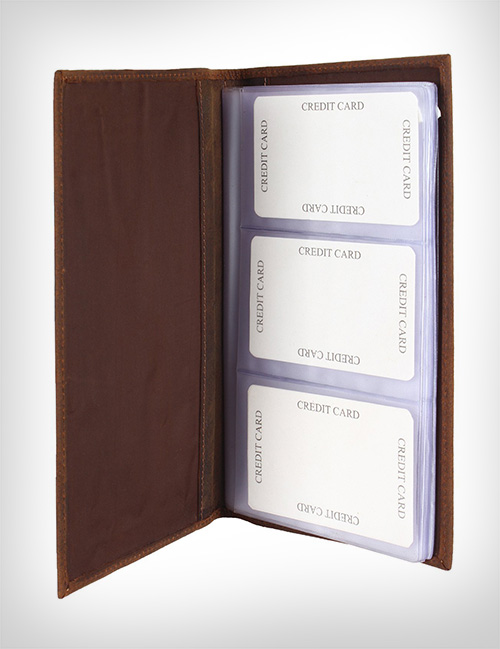 Premium-Leather-Business-Card-Organizer-Holder