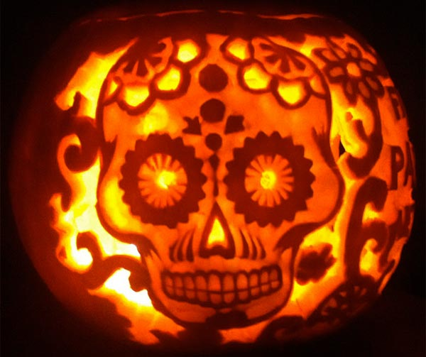 Skeleton-Pumpkin-Carving