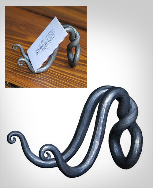 Wrought-Iron-Business-Card-Holder