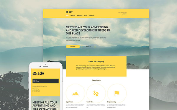 Advertising Agency WP Theme