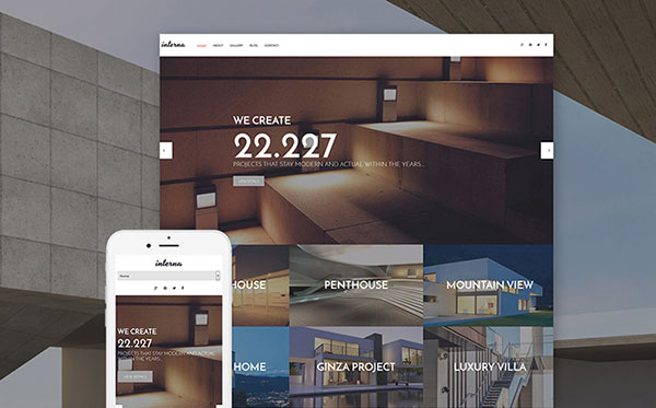 Architecture Portfolio WordPress Theme