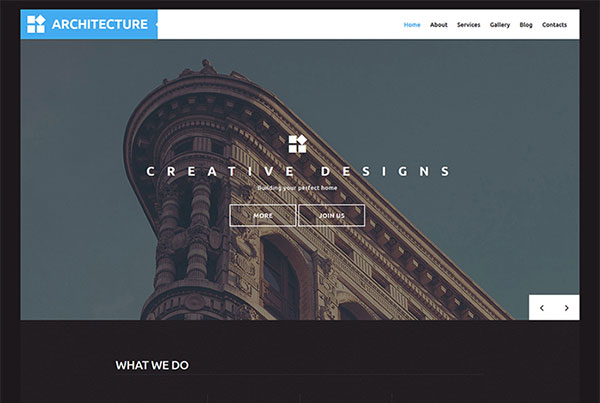 Architect WP Template