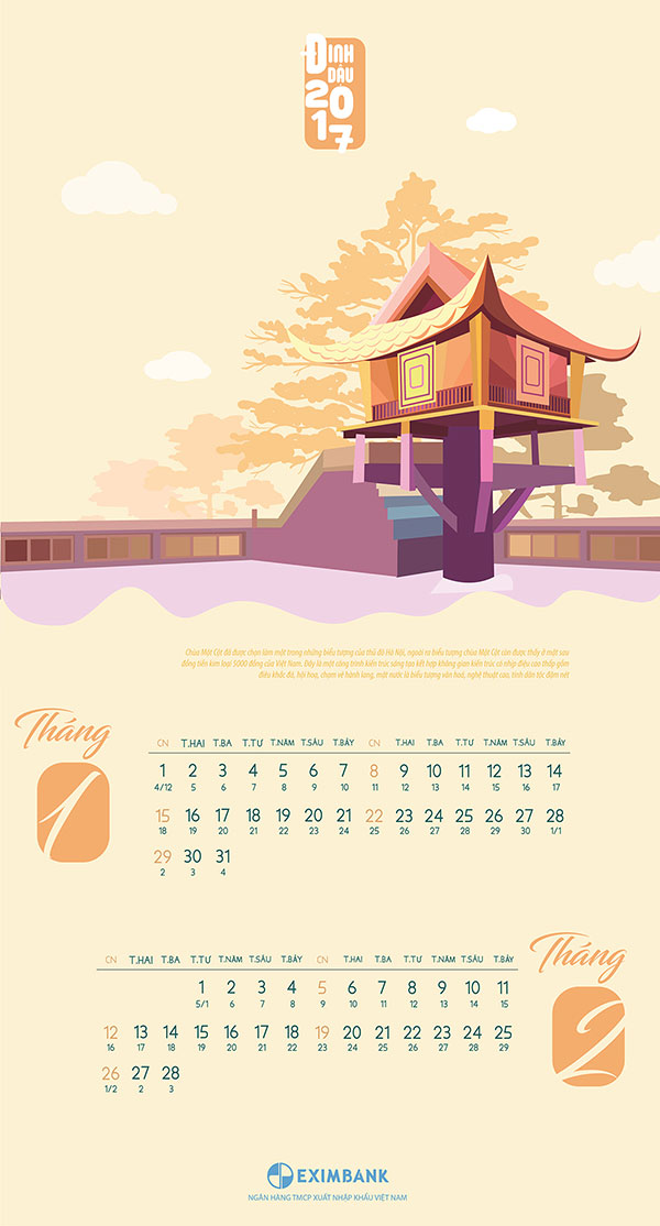 25 best new year 2017 wall desk calendar designs for