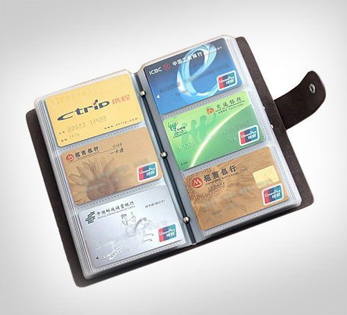 Credit-Card-Holder-Book-Organizer