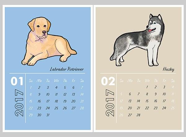 Dogs-calendar-2017-Design-2